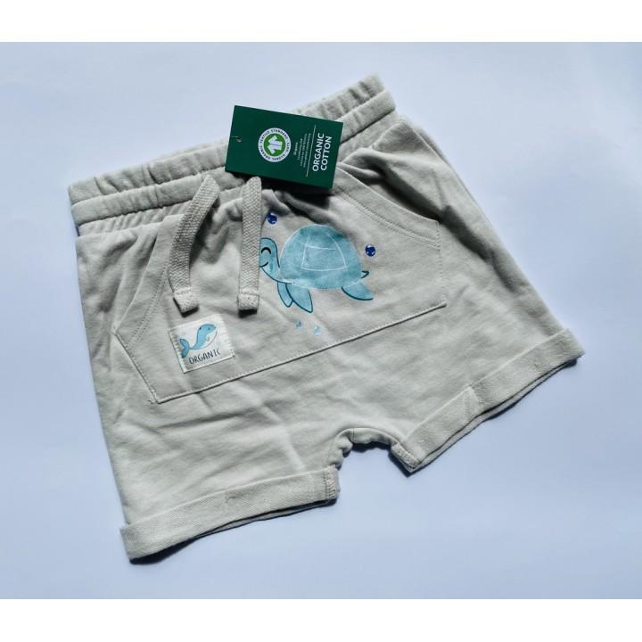 Шорты из ЭКО хлопка, фирма So&Cute, цвет серый. Размеры: 80,92,98