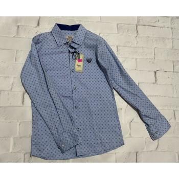 Ayugi хлопковая рубашка для мальчика 10-11 лет (рост 146 см)