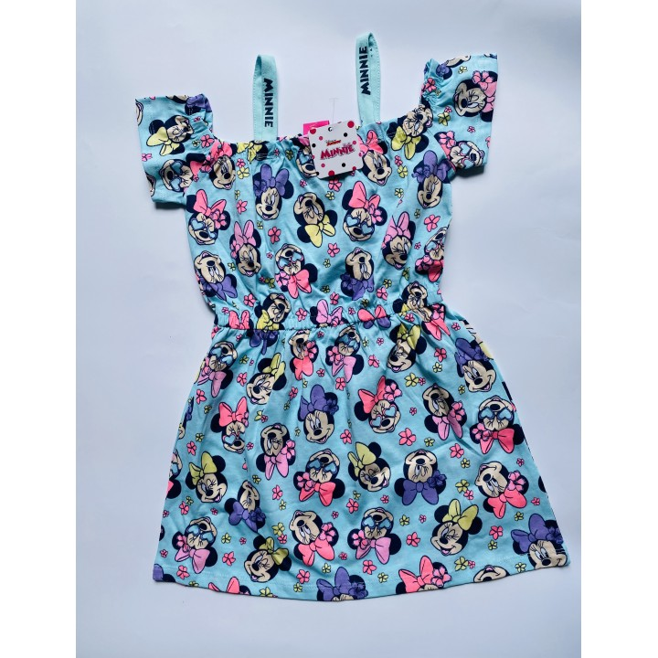 Хлопковые платья Minnie Disney (Польша). Размеры: 104;110;116;122;128;134
