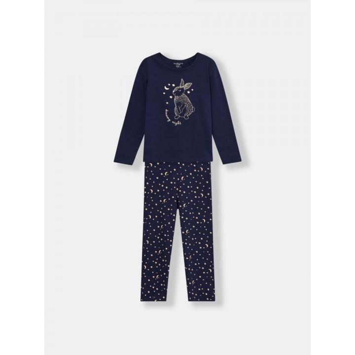 Fox&Bunny пижама для девочек, Польша. Размеры: 122, 128