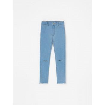 Мягкие польские джинсы-скини, размер 110 (4-5 лет)