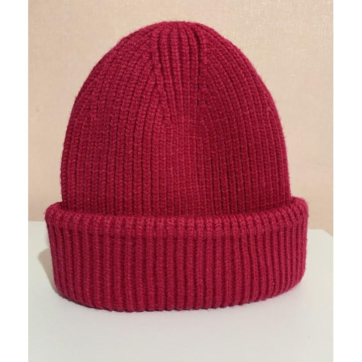 Демисезонная шапка с отворотом Zara, размер 8-12 лет