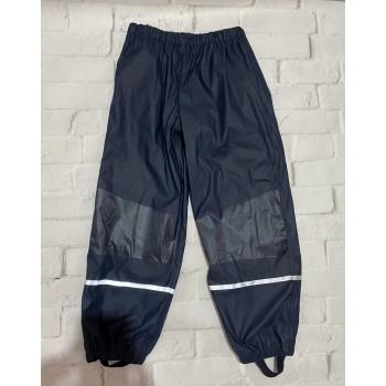 Плащевые штаны на флисовой подкладке, рост 122/128(7-8 лет). Фирма Lupilu, Германия