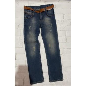 Плотные джинсы Altun Cocud , Турция. Рост 134 (8-9 лет).