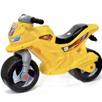 Каталка «Ямаха» 501, цвет желтый. Размер упаковки: 70#20#40 см, кулёк