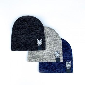 Демисезонная шапка «Волфи», объём  46-48 см