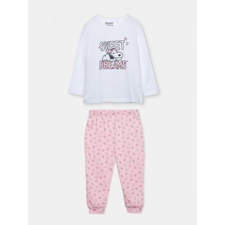 Хлопковая польская пижама Snoopy. Размеры 74,80.