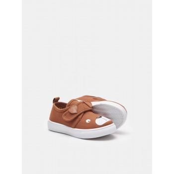 Текстильная обувь на липучке «Рыжик», Польша. Размеры: 20,21,22,23,24,25