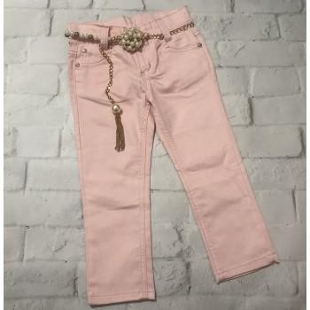 Однотонные джинсы, размер 98 см (3-4 года)