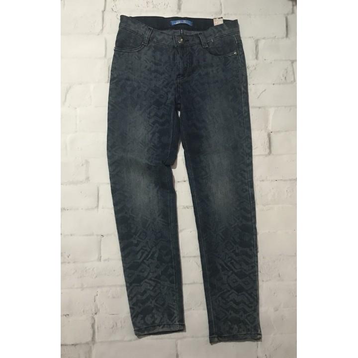Однотонные синие джинсы, рост 104. Турция