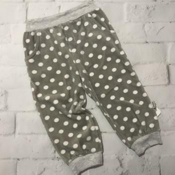 Велюровые штанишки, размер 9-12 (74-80 см). Турция