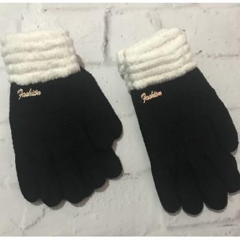 """Зимние перчатки для девочки 10-12 лет, """"Fasion"""""""