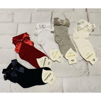 Katamino нарядные хлопковые носки с аксессуаром,   размер 5-6 лет (28-30),   Арт К22118.