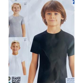 Чёрные футболки Байкар, Турция. Размеры: 110/116; 122/128; 134/140