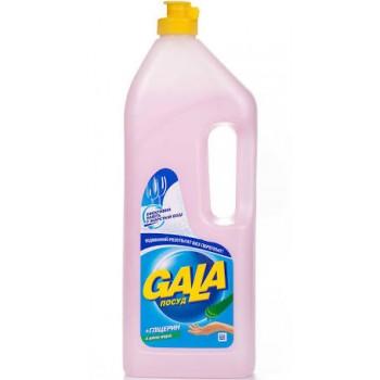 Gala мягкое средство для мытья посуды Глицерин-алоэ, 1000мл