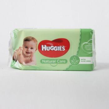 Влажные салфетки Huggies Natural Care