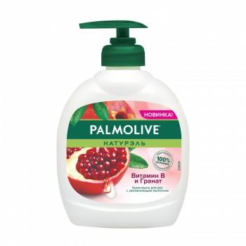 Palmolive жидкое мыло с дозатором «Витамин В и гранат», 300 мл