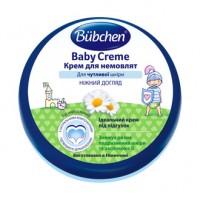 Bubchen крем для чувствительной детской кожи, под подгузник. 150 мл. Германия