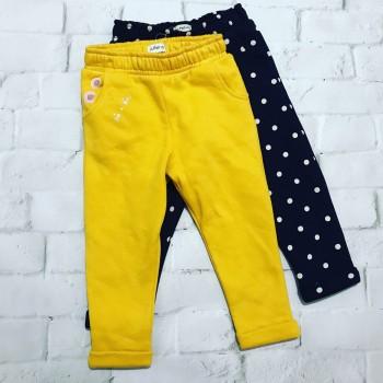 Набор из двух тёплых штанишек, от польского бренда F&F