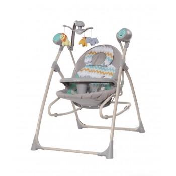 CARRELLO NANNY 3 в 1, колыбель-качеля-стульчик для кормления