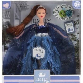 Emili кукла в бальном платье, с аксессуарами . В коробке