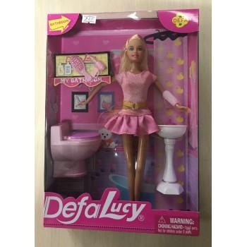 """Defa Lucy """"Ванная комната"""". Умывальник, унитаз, аксессуары. В коробке. Модель 8200"""