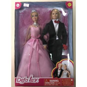"""Defa Lucy """"Невеста и жених"""", в подарочной коробке. Мод. 8305"""