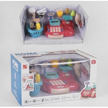 Кассовый аппарат 668-71, 26 предметов, сканер, аксессуары, звук, свет. Коробка 41#20#22 см
