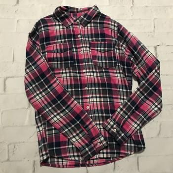 Теплая фланелевая рубашка, Польша, фирма F&F, рост 164
