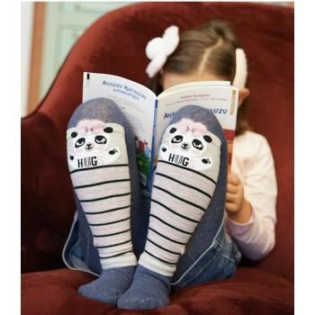 Демисезонные колготки для девочки 5-6 лет, Турция. Модель К32126