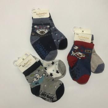 Набор из 2 пар демисезонных носков, размер 0-6 мес