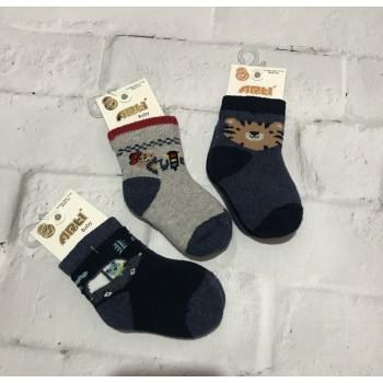 Arti теплые турецкие носочки, модель 450077. Размеры : 0-6 мес; 6-12 мес; 12-18 мес