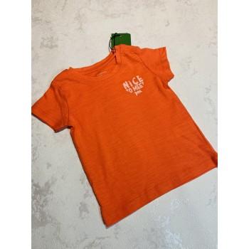 Футболки reserved 62-68 Оранжевая