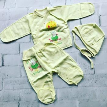 Костюмы для новорождённых, размер 56. Футер