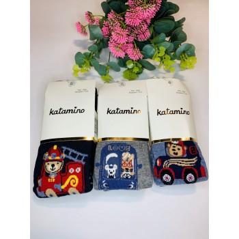 Katamino демисезонные  хлопковые колготки,  размер 5-6 лет.  Модель К30115