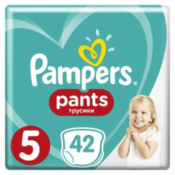 Pampers Pants  5,трусики 42   штуки в упаковке