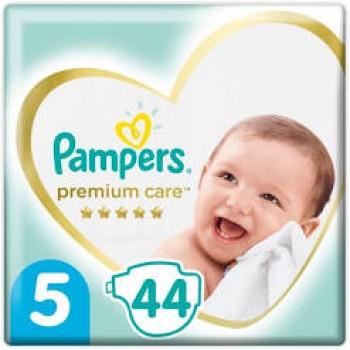 Pampers Premium care 5 (11-16кг), 44 штуки в упаковке