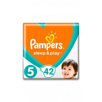 Pampers Sleep&play 5, 42  штуки в упаковке