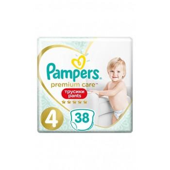 Pampers Premium Care Pants 4 (9-15  кг), 38 штук в упаковке