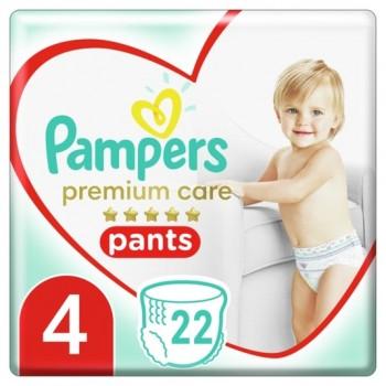 Pampers Premium care 4, 22 штуки в упаковке