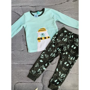 Пижама на мальчика флис