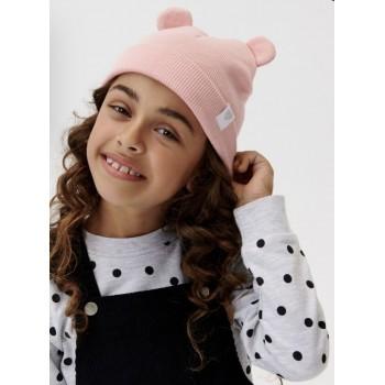 Демисезонные шапочки для малышей  Fox&Bunny (Польша). Размеры: 3-6 мес; 6-9 мес; 12-18 мес