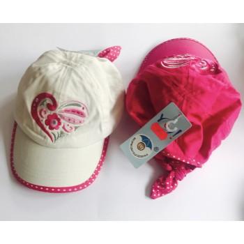 """Кепки для девочки 2-3 года (размер 52) «Scorpio Poland"""""""