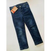 Однотонные джинсы для девочки , размер 4 года (98-104)