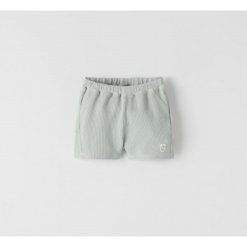 Легкие хлопковые шорты Zara, размер 80 см (подойдет на 2-3 года)