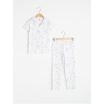 Пижамный комплект Waikiki для девочек, размеры: 3-4, 4-5, 5-6, 7-8, 9-10, 10-11 лет