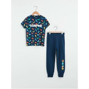Пижамный комплект Dino Waikiki, размеры: 6-7 лет, 10-11 лет